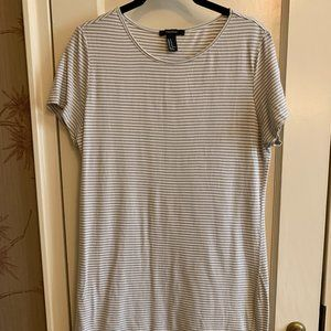 Forever 21 Stripe T Shirt Dress, Size M